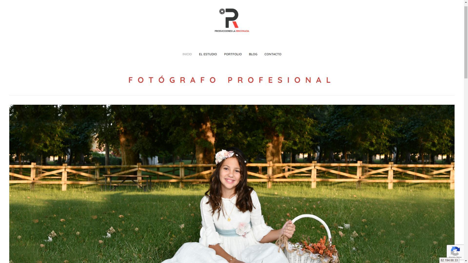 Desarrollo web para Producciones la Rinconada