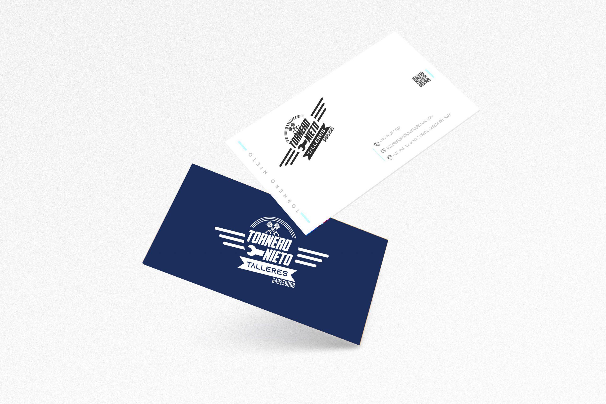 Diseño gráfico para Talleres Tornero Nieto